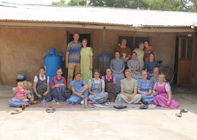 Visiting missionaries